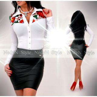 NedyN virág mintás Kata női ing