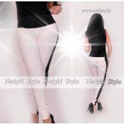 NedyN fehér nadrág fekete csíkkal S -es