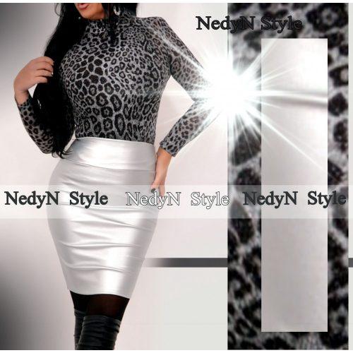 NedyN  Silver műbőr Babi szoknya